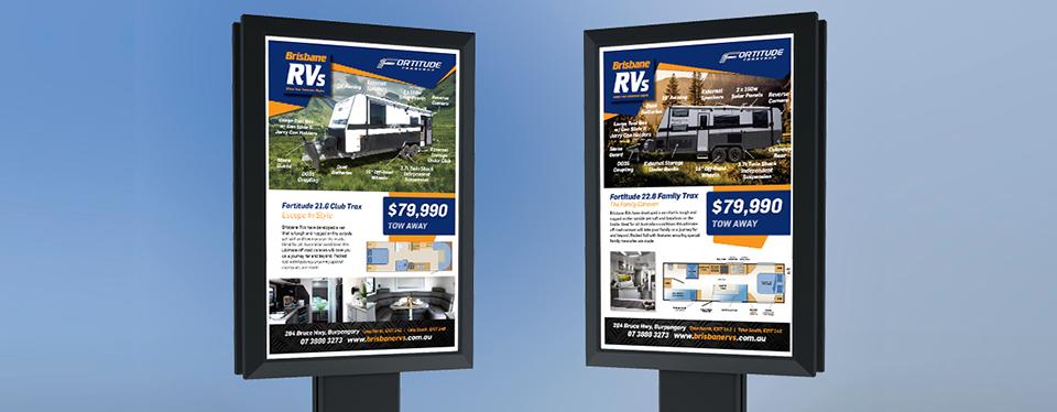Brisbane RVs - John Cochrane Advertising