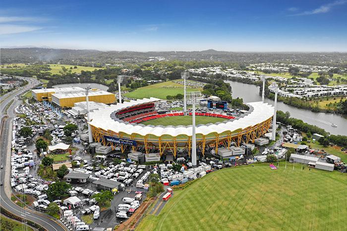 Mertricon Stadium Drone Footage