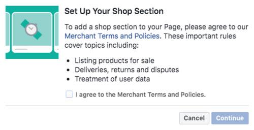 Facebook Shop Setup
